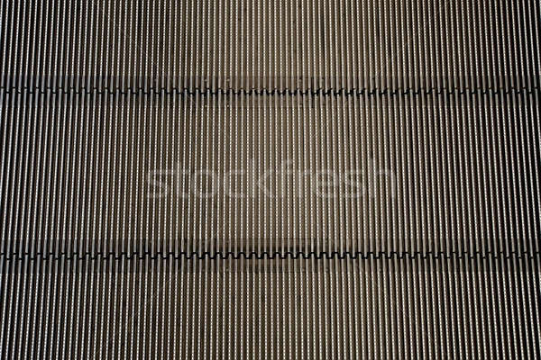 Metal iron background (Detail from escalator - texture) Stock photo © art9858