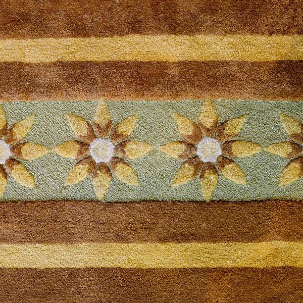 Blumen braun Teppich Papier Buch Wand Stock foto © art9858