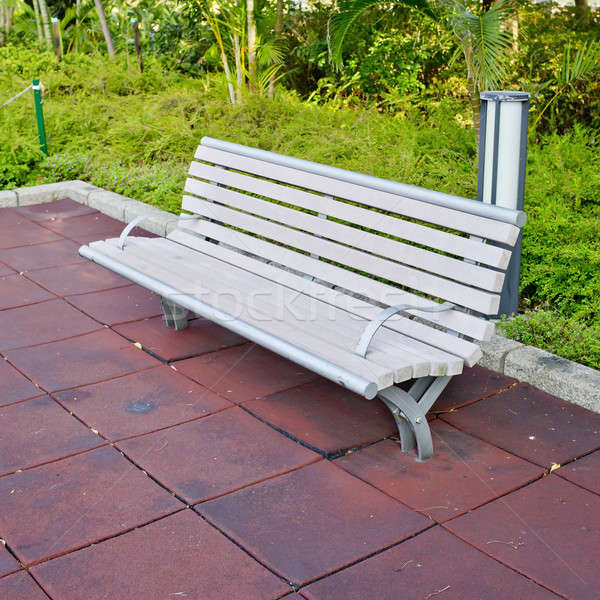 park, path, bench day background Stock photo © art9858