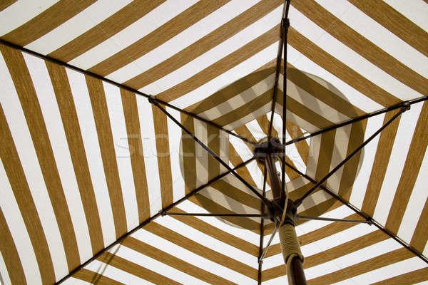 Under the canvas Umbrella. Stock photo © art9858