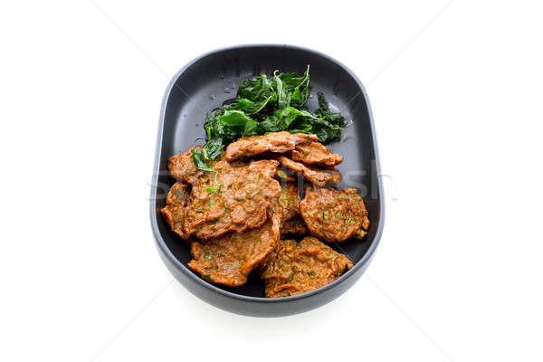 Thai Food Fish Cake (Tod Mun Pla) Stock photo © art9858