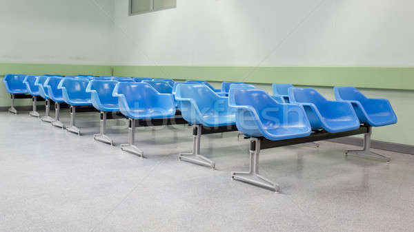 empty waiting seats in hospital Stock photo © art9858