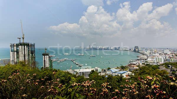 Paisaje playa Tailandia cielo feliz naturaleza Foto stock © art9858