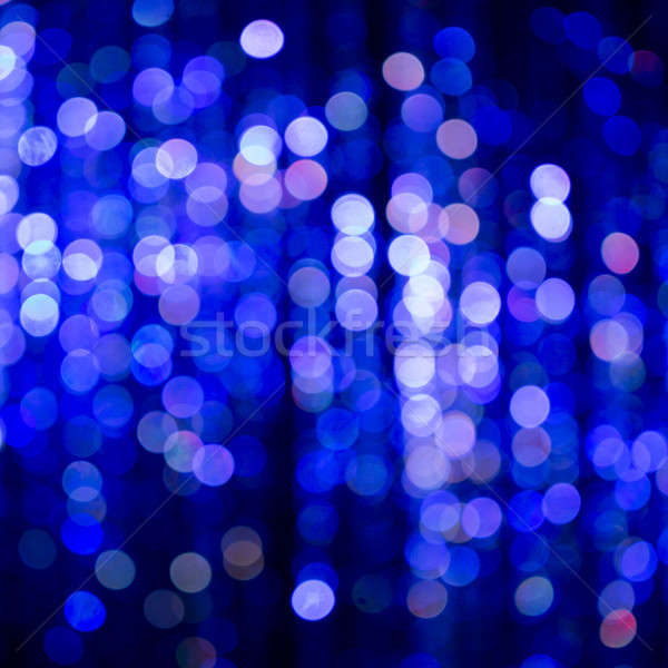 Blue Festive Christmas elegant abstract background with bokeh Stock photo © art9858