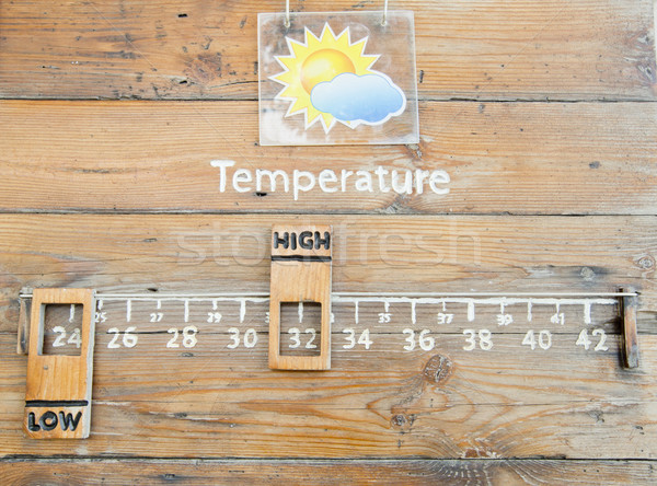 Temperature Thermometer Stock photo © art9858