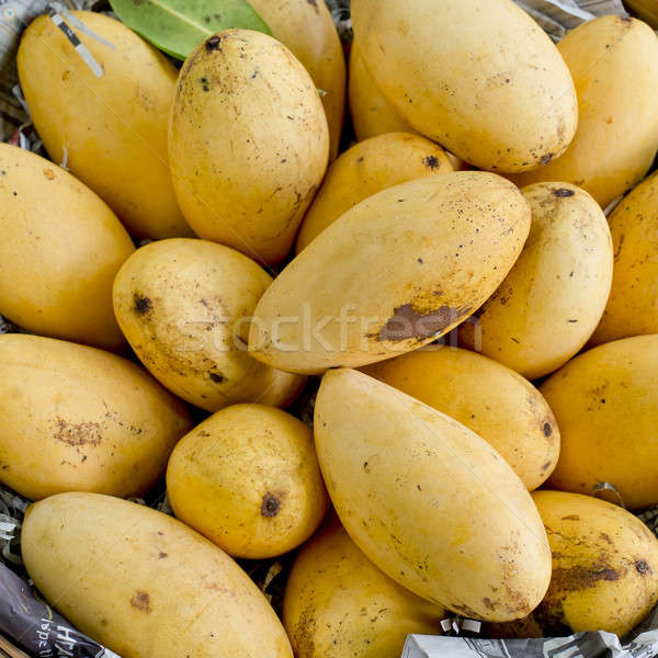 Mangoes in the basket Stock photo © art9858