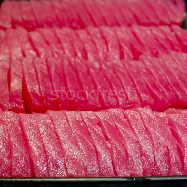 Sashimi japonais sushis poissons lumière restaurant Photo stock © art9858