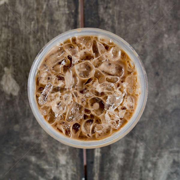 Foto stock: Topo · ver · frio · café · beber · gelo