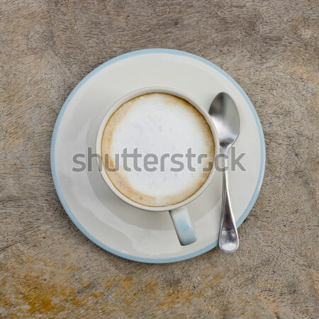 A cup of cafe latte Stock photo © art9858