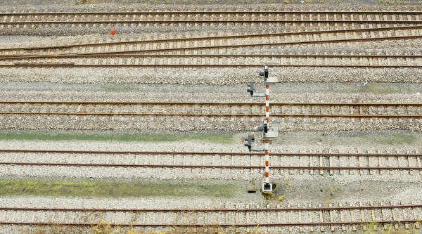 Stazione ferroviaria Thailandia urbana industria consegna brano Foto d'archivio © art9858