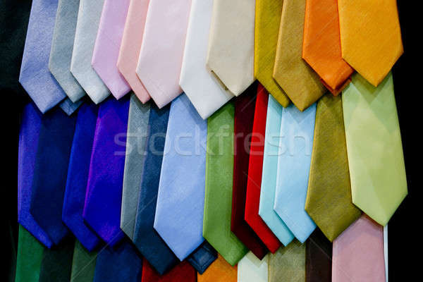 display with dotted necktie Stock photo © art9858