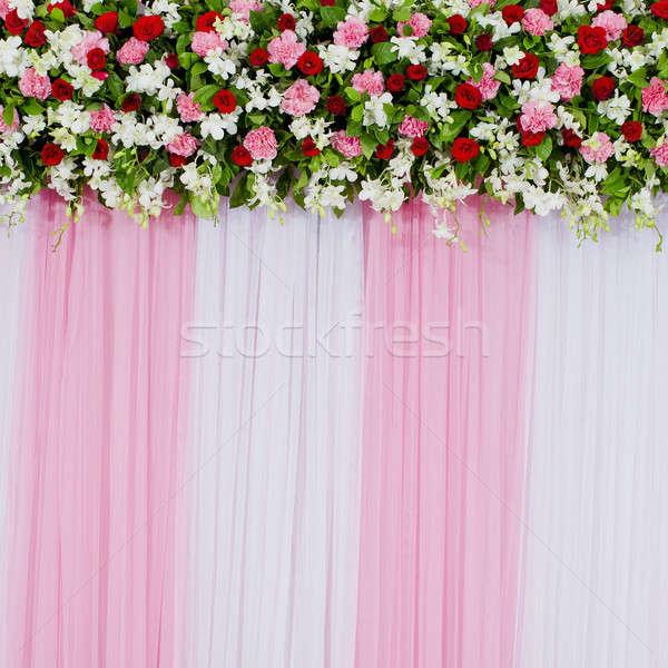 floral backdrop Stock photo © art9858