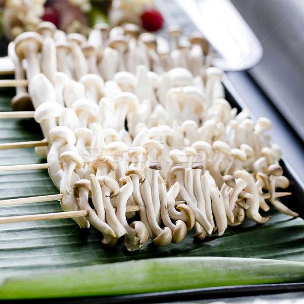 Variedade cogumelos pronto grelhado Foto stock © art9858