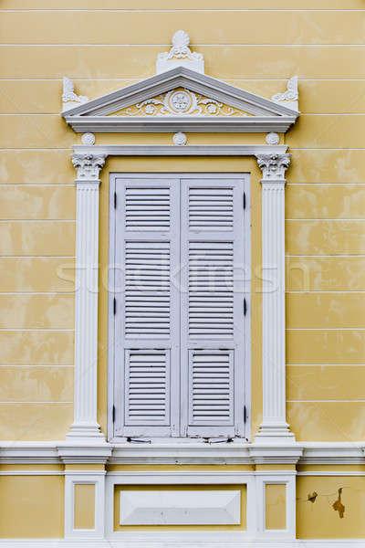 Сток-фото: Windows · Готский · стиль · стены · моде · окна