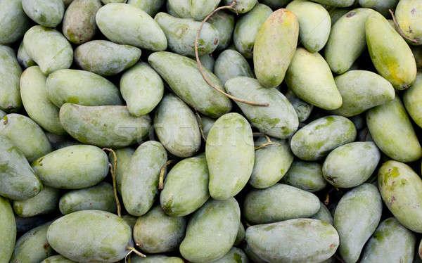 green mangoes full frame closeup. Stock photo © art9858