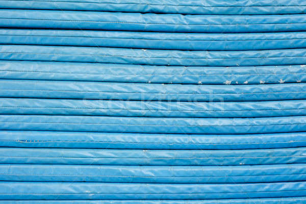 Netzwerk Kabel Technologie Hintergrund blau Stock foto © art9858