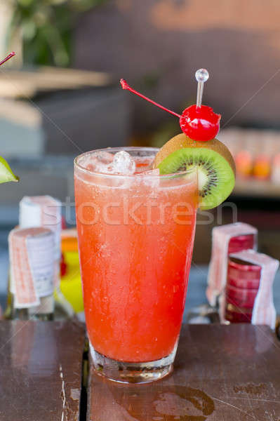 fruit juice, cocktail Stock photo © art9858