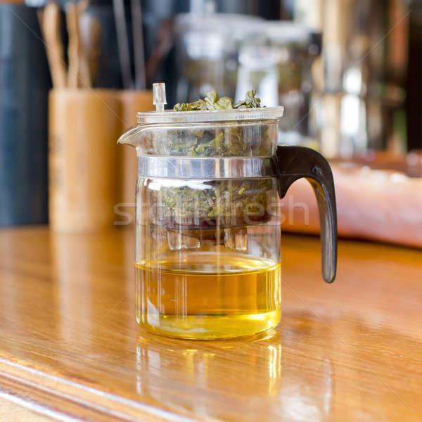 tea making/tea filter Stock photo © art9858