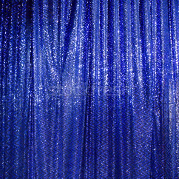 Brightly lit curtains for your background Stock photo © art9858