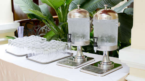 Cold water dispensers - water cooler Stock photo © art9858