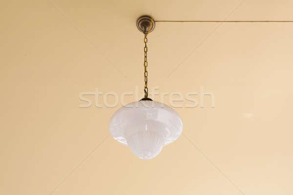Vintage люстра свет домой ночь лампы Сток-фото © art9858