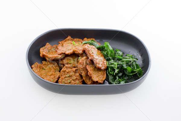 タイ料理 魚 ケーキ アジア 中国語 甘い ストックフォト © art9858