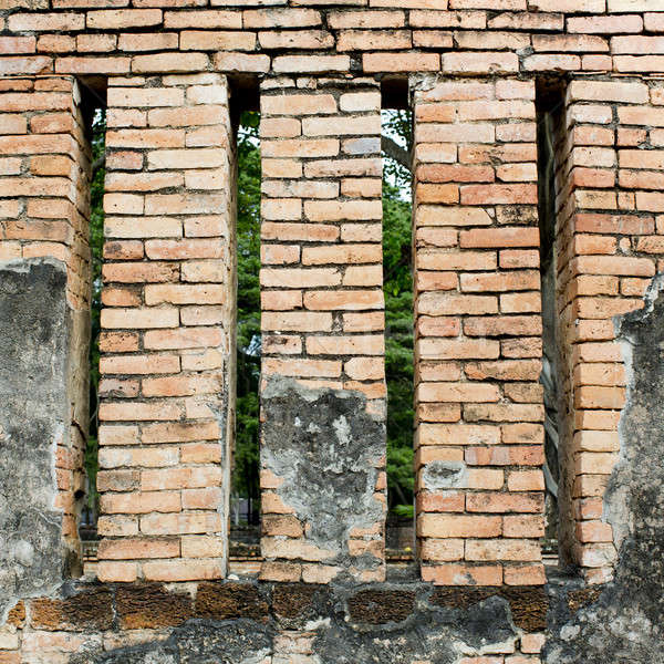 Background of brick wall texture Stock photo © art9858