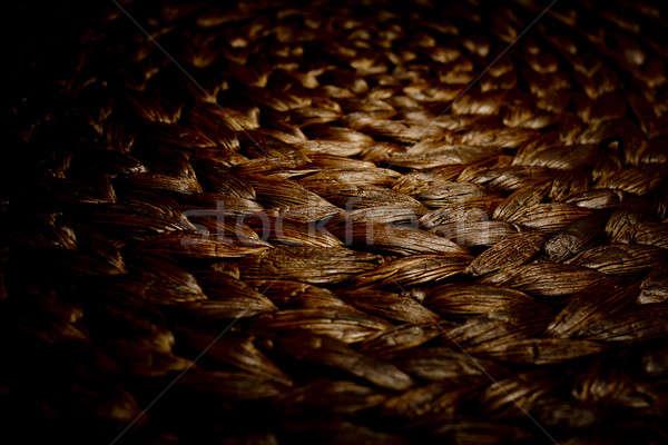 текстуры плетеный корзины природы дизайна фермы Сток-фото © art9858