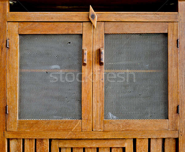 Old Kitchen cupboard Stock photo © art9858