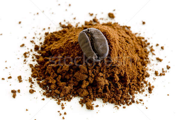 coffee beans isolated on white background Stock photo © art9858