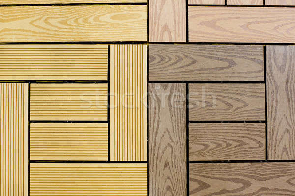 grunge wood panels may used as background Stock photo © art9858