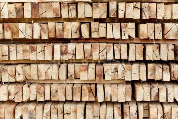 見た 木材 準備 冬 加熱 シーズン ストックフォト © art9858