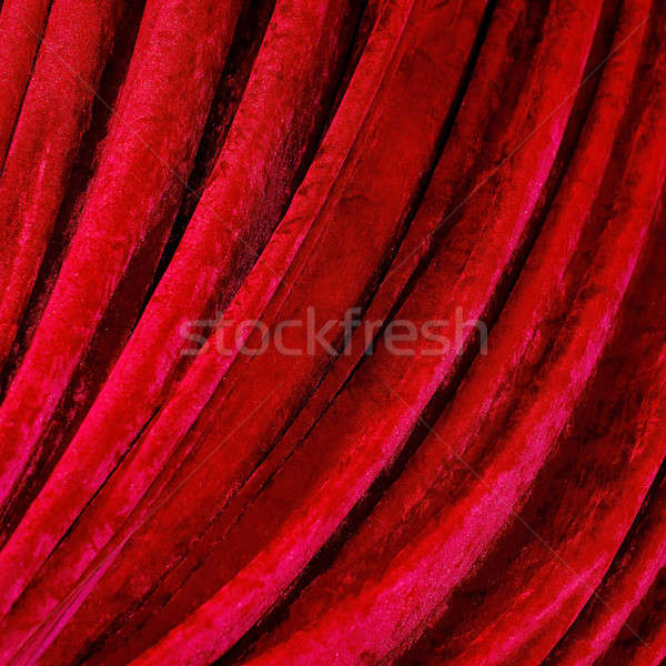 red curtains Stock photo © art9858
