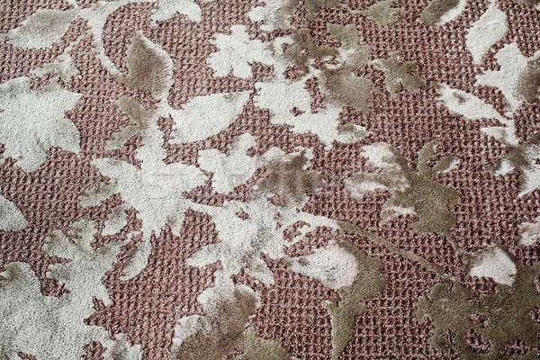 Vuile tapijt ontwerp voorjaar Stockfoto © art9858