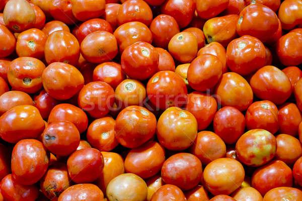 tomatoes background texture Stock photo © art9858