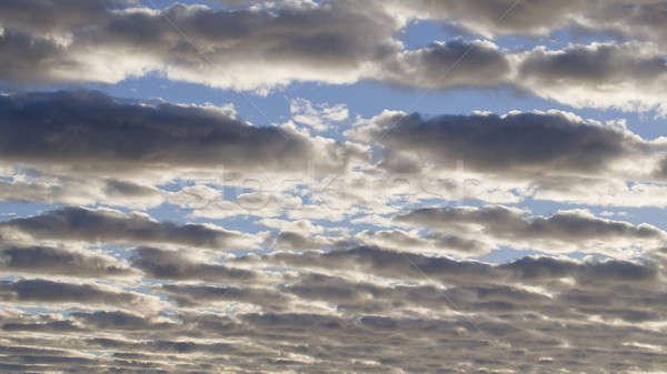 Mavi gökyüzü bulutlar yaz mavi bulut Stok fotoğraf © art9858