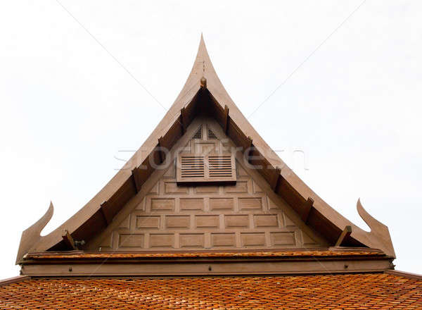 Thai style roof for house Stock photo © art9858