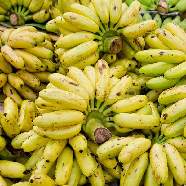 Köteg megművelt banán étel természet gyümölcs Stock fotó © art9858