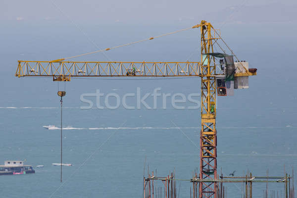 hoisting crane with the blue sky Stock photo © art9858