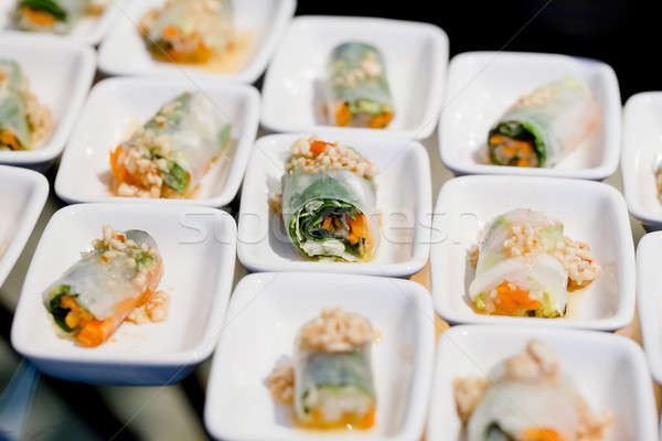 Appetizers and finger food-closeup Stock photo © art9858