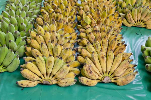 Bunch of ripe bananas Stock photo © art9858