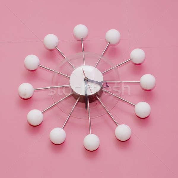 Kreatív óra iroda háttér művészet sebesség Stock fotó © art9858