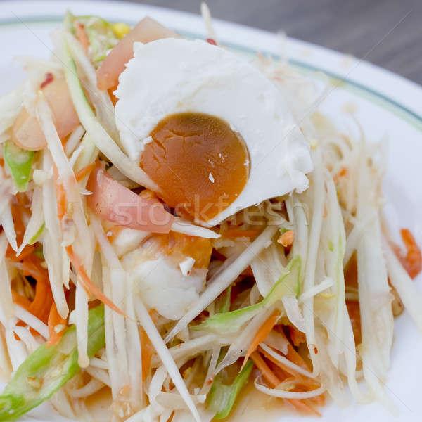 有名な タイ料理 サラダ 卵 何 ストックフォト © art9858