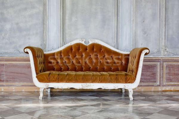modern brown sofa Stock photo © art9858