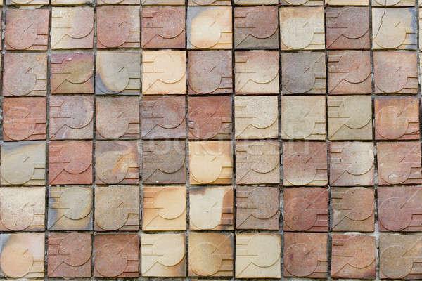 modern brick wall texture background Stock photo © art9858