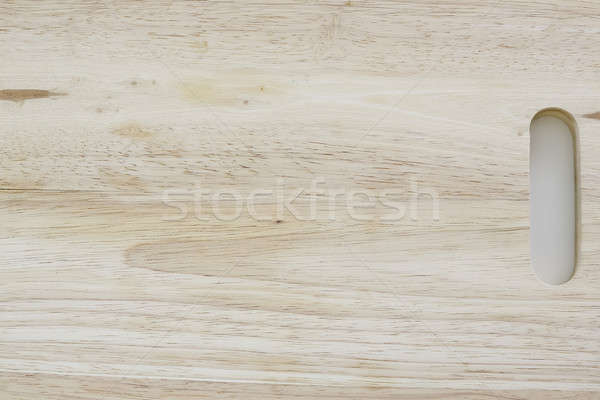 Wooden Chopping Board Isolated on White Stock photo © art9858