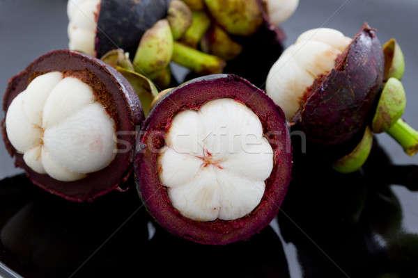 Мангостин фрукты Purple свежесть Сток-фото © art9858