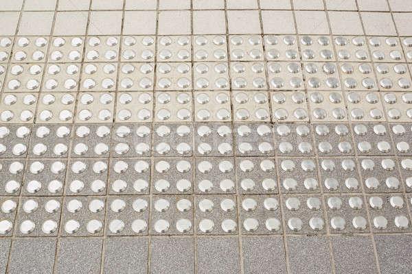 Brick pattern - Dot on brick block pattern Stock photo © art9858
