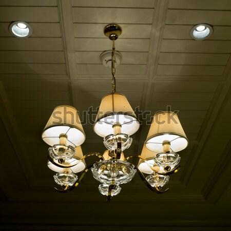 Verlichting lampen bouw lamp kleur architectuur Stockfoto © art9858