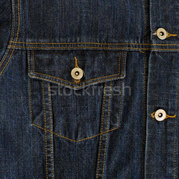 Kot tekstil cep iş işadamı dokular Stok fotoğraf © art9858